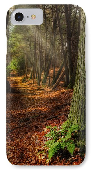 Serenity Of The Forest IPhone Case by Bill Wakeley