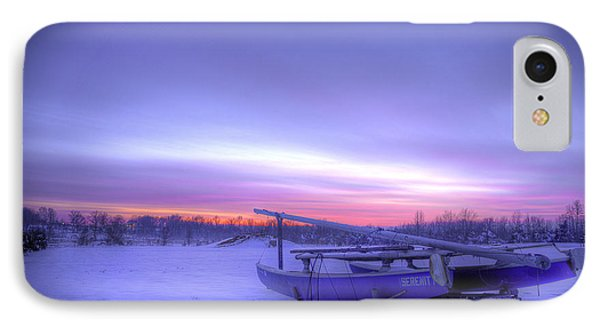 IPhone Case featuring the photograph Serenity On A Sea Of Snow by Micah Goff