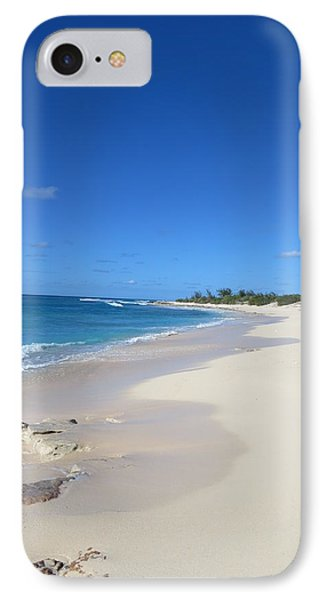 IPhone Case featuring the photograph Serenity On Grand Turk by Jean Marie Maggi