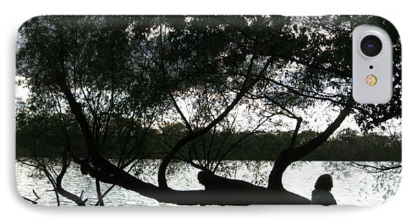 IPhone Case featuring the photograph Serenity On The River by Digital Art Cafe