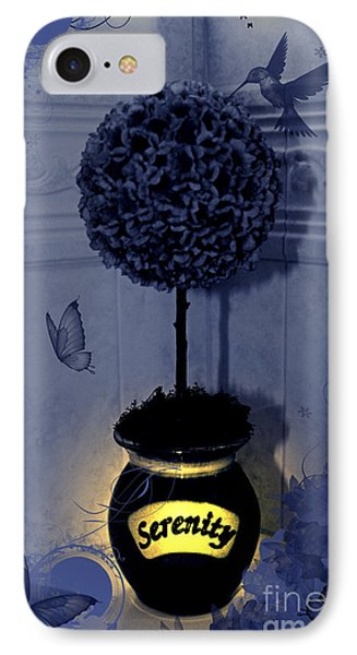 Serenity Topiary Glow IPhone Case