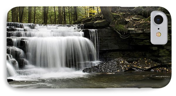 IPhone Case featuring the photograph Serenity Waterfalls Landscape by Christina Rollo