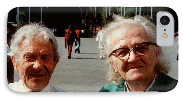 Sergei And Cecilia Gaposchkin IPhone Case by Emilio Segre Visual Archives/american Institute Of Physics