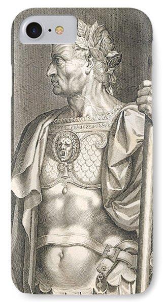 Sergius Galba Emperor Of Rome  Phone Case by Titian
