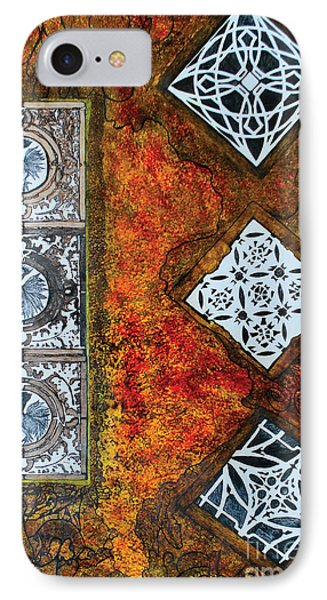 Serie Lissette V IPhone Case by Chary Castro-Marin