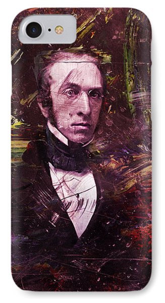 Serious Fellow 1 IPhone Case by James W Johnson