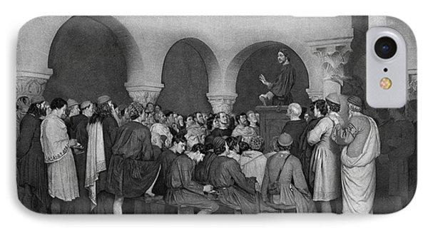 Sermon By Abelard Phone Case by Granger