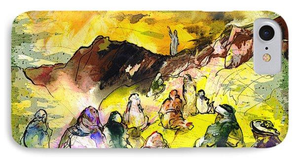 Sermon On Mount Sinai 02 IPhone Case