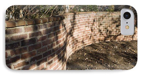 Serpentine Wall University Of Virginia IPhone Case by Jason O Watson