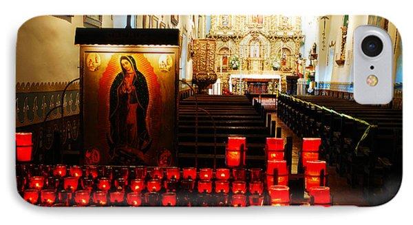 Serra Chapel San Juan Capistrano IPhone Case by James Kirkikis