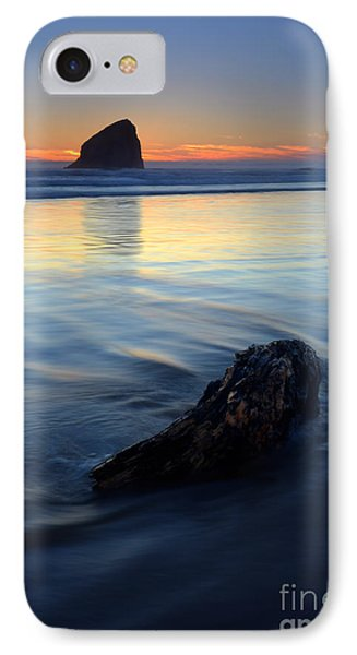 Set In Sand IPhone Case by Mike  Dawson