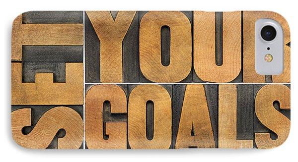 Set Your Goals  IPhone Case by Marek Uliasz