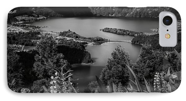 Sete Cidades Lake IPhone Case