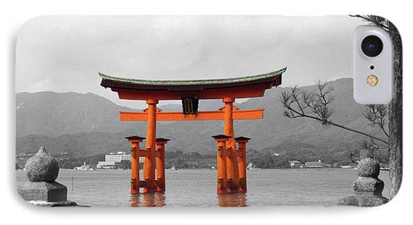 Seto Shrine IPhone Case by Cassandra Buckley
