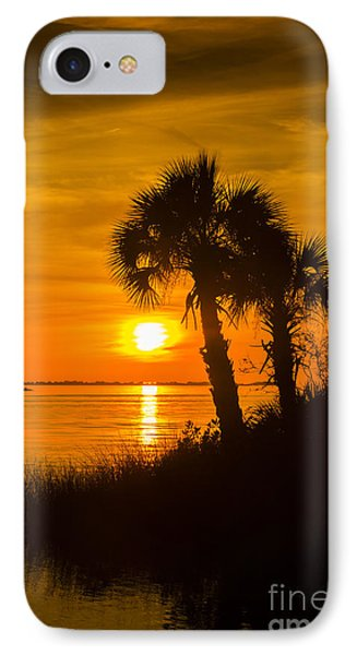 Settting Sun IPhone Case by Marvin Spates