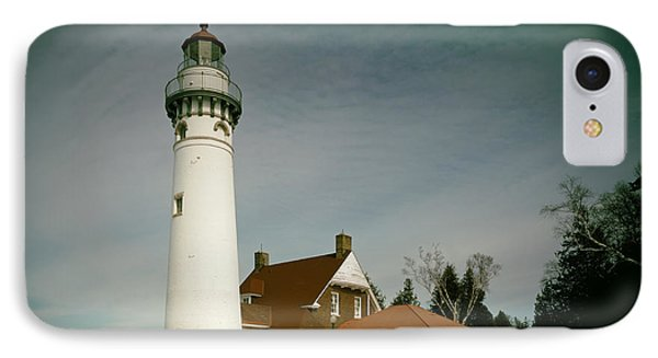 Seul Choix Point Lighthouse In Winter IPhone Case