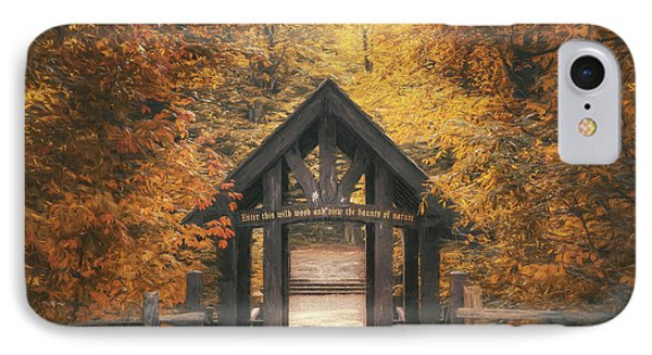 Seven Bridges Trail Head IPhone Case