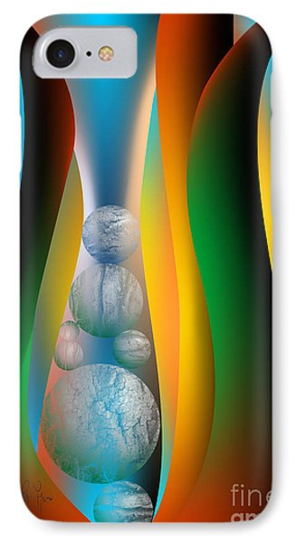 IPhone Case featuring the digital art Seven Lean Years by Leo Symon