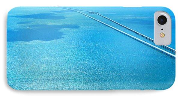 Seven Miles Bridge Florida Keys Fl Usa IPhone Case