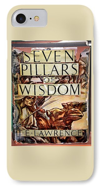 Seven Pillars Of Wisdom Lawrence IPhone Case by Jay Milo