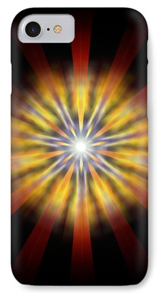 Seven Sistars Of Light IPhone Case by Derek Gedney