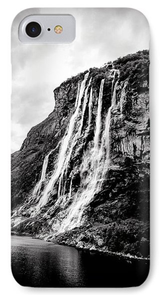 Seven Sisters Waterfall IPhone Case by Bill Howard