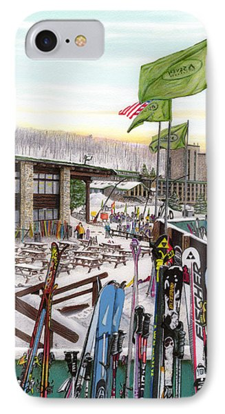 Seven Springs Mountain Resort IPhone Case by Albert Puskaric