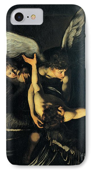 Seven Works Of Mercy IPhone Case by Caravaggio