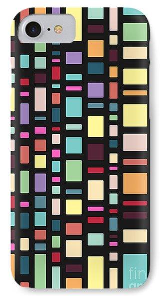Seventeen Pattern Dark IPhone Case by Freshinkstain