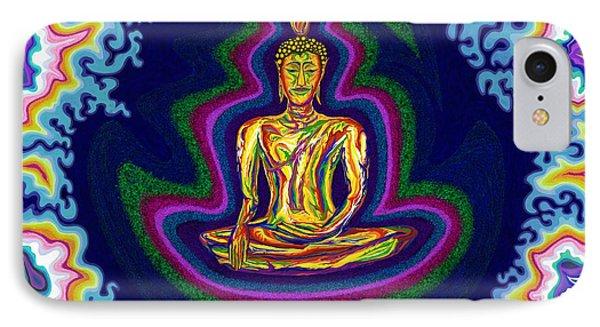 Seventh Heaven Buddha IPhone Case