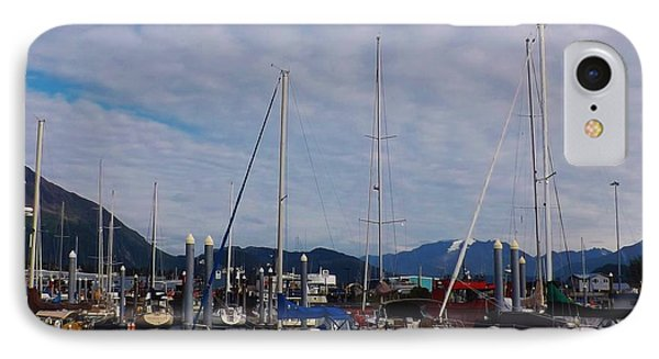 IPhone Case featuring the photograph Seward Marina by Brigitte Emme