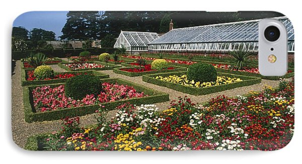 Sewerby Gardens IPhone Case by Michael R Chandler