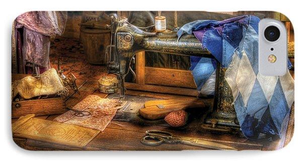 Sewing Machine  - Sewing Machine IIi Phone Case by Mike Savad