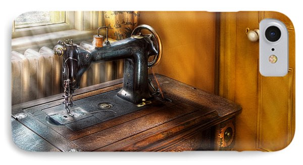 Sewing Machine  - The Sewing Machine  Phone Case by Mike Savad