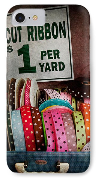 Sewing - Ribbon By The Yard Phone Case by Mike Savad