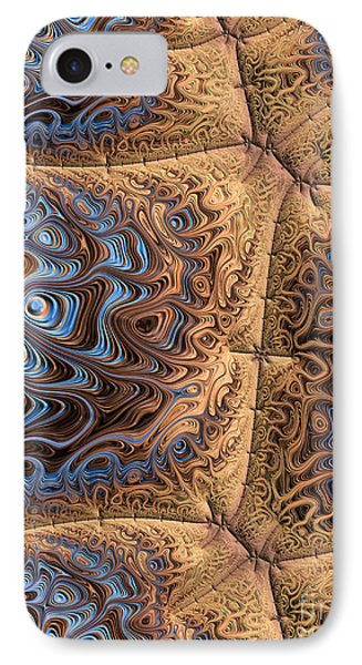 Sewn  Phone Case by Heidi Smith