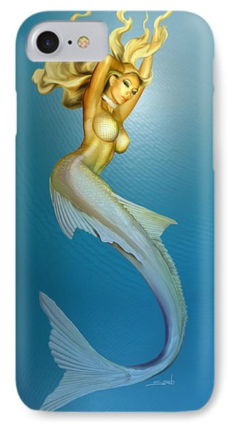 Sexy Mermaid By Spano IPhone Case