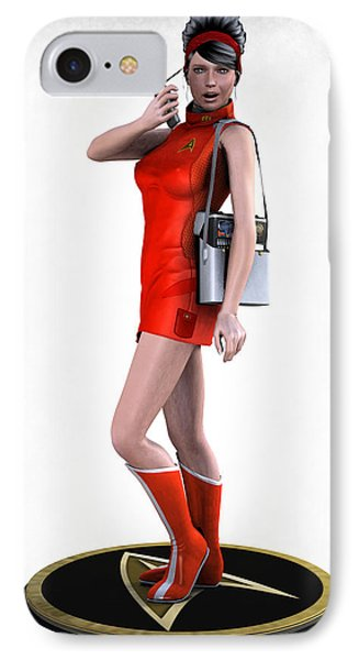 Sexy Trekkey IPhone Case by Frederico Borges