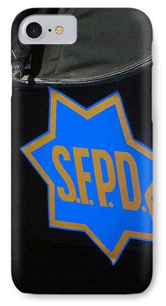 Sfpd Emblem Phone Case by T C Brown