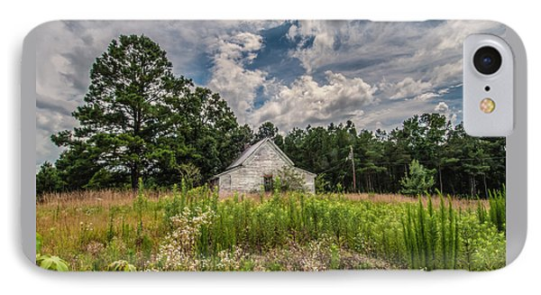 Shack And Field IPhone Case by Jim Moore
