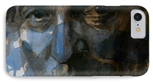 Musicians iPhone 7 Case - Shackled And Drawn by Paul Lovering