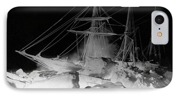 Shackleton's Ship, Endurance IPhone Case by Underwood Archives