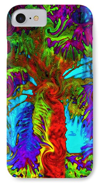 Shade Trees On Venus IPhone Case by Alec Drake