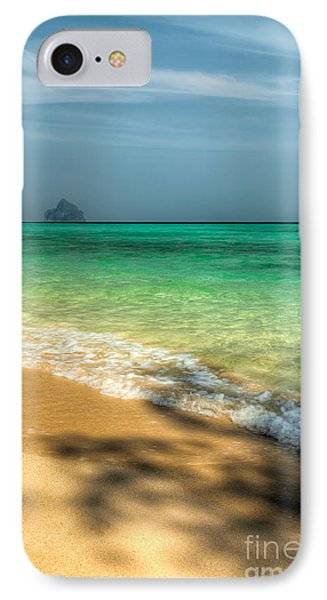Shaded Beach Phone Case by Adrian Evans