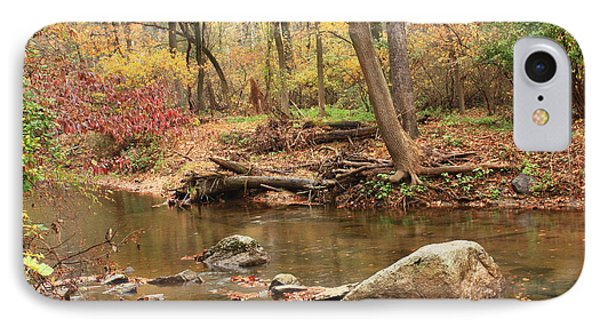 Shades Of Fall In Ridley Park IPhone Case by Patrice Zinck