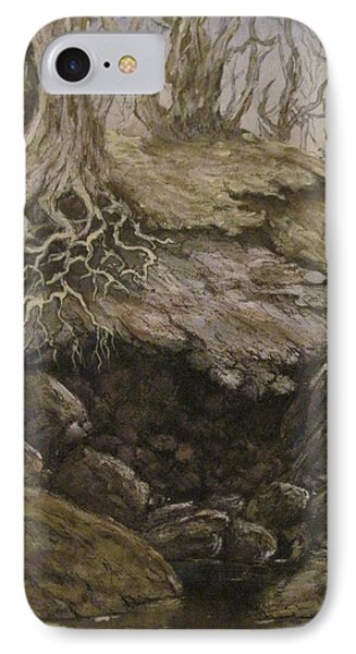 IPhone Case featuring the painting Shades Of Froud by Megan Walsh