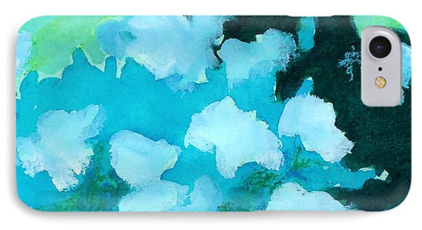 Shades Of Green And Light Phone Case by Kathy Braud