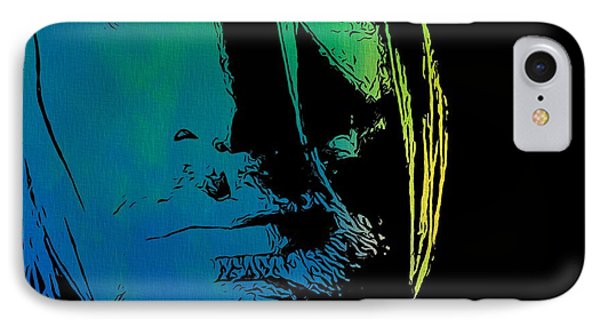 Shades Of Kurt Cobain IPhone Case by Dan Sproul