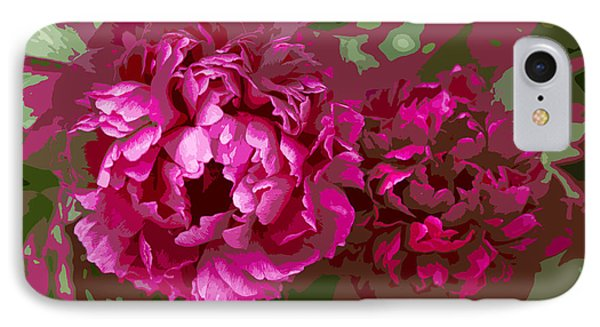 IPhone Case featuring the photograph Shades Of Pink  by Jeanette French