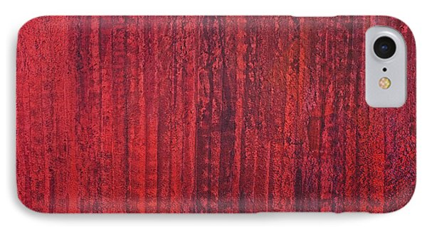 Shades Of Red IPhone Case by James Mancini Heath